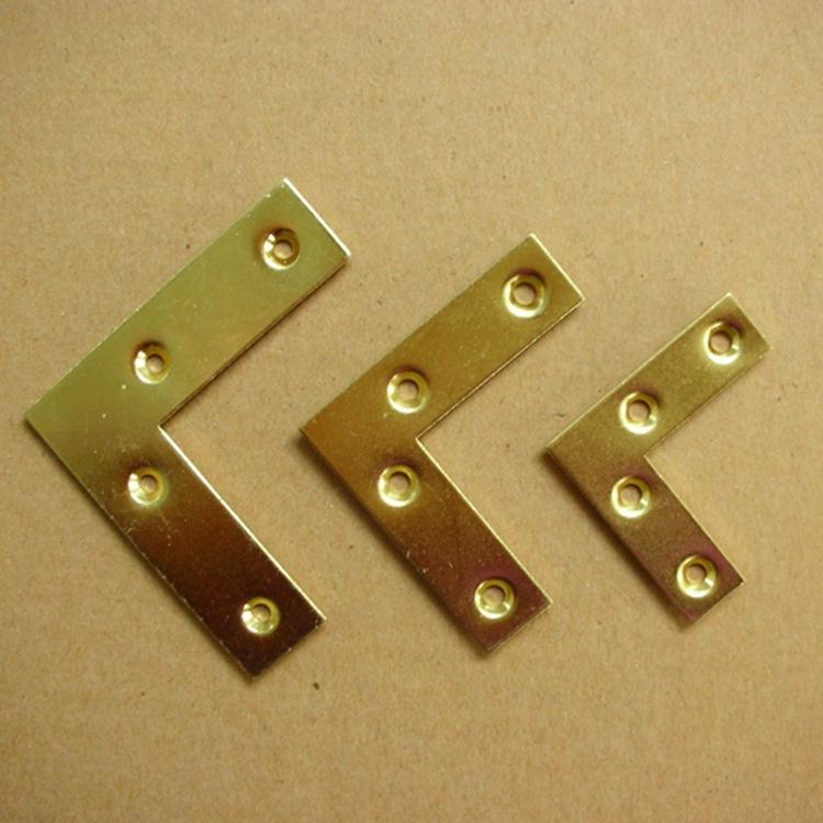 L字型平面角码连接片